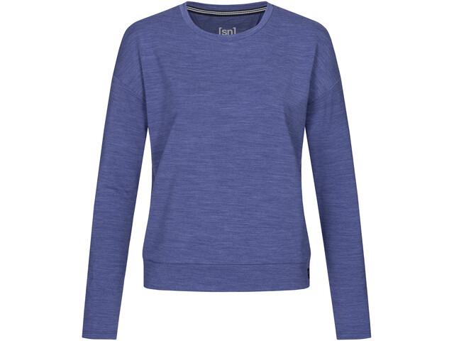 super.natural Jonser Sweater Damer, blå